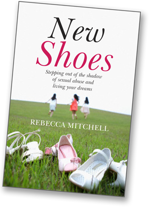New Shoes book by Rebecca Mitchell