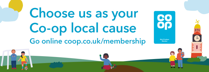 Into the Light - Choose us as your Coop charity